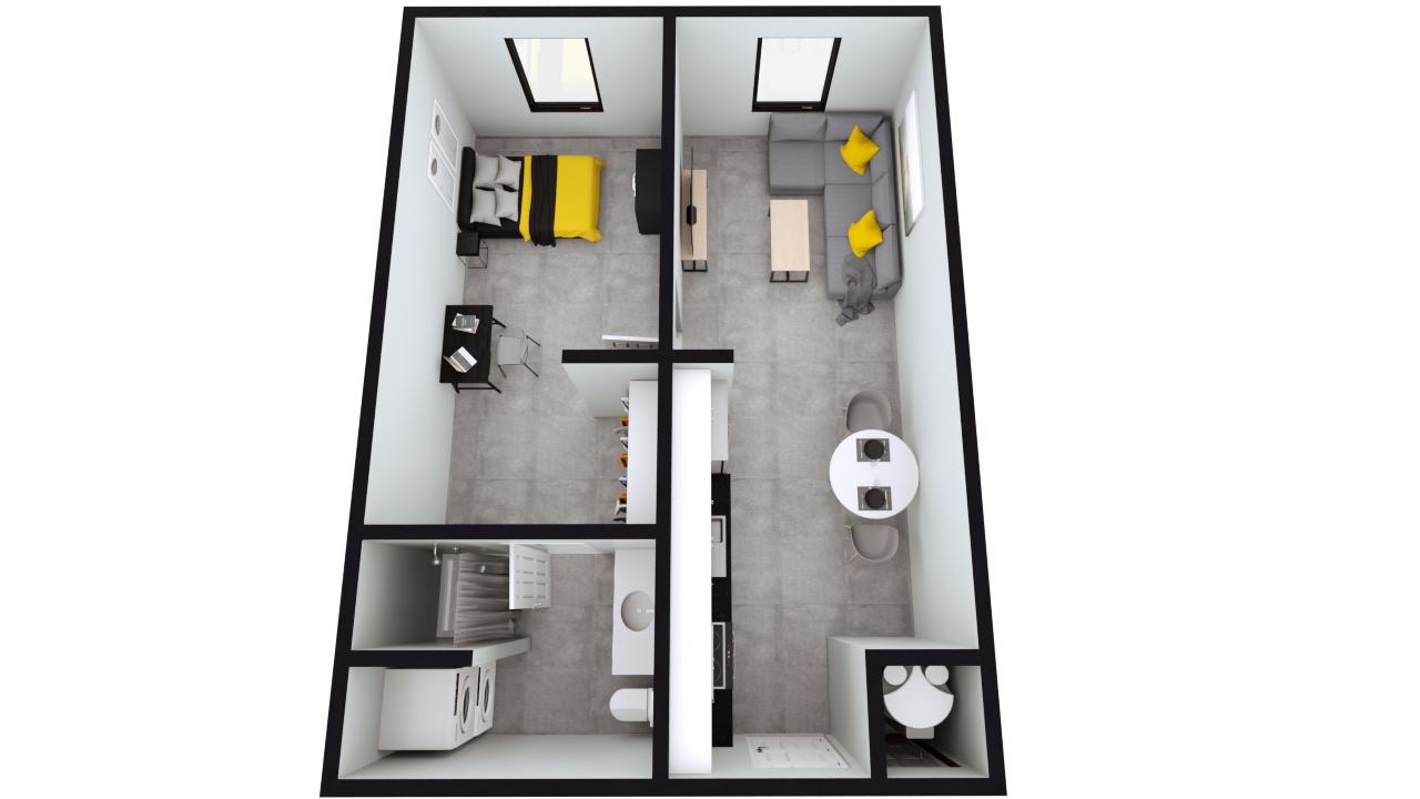 The Nest Style A1 & A2 Floor Plan