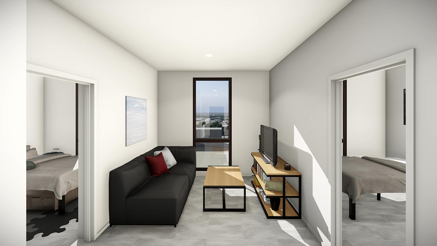 The Nest Styles B1, B2, B5 & B6 Living Room