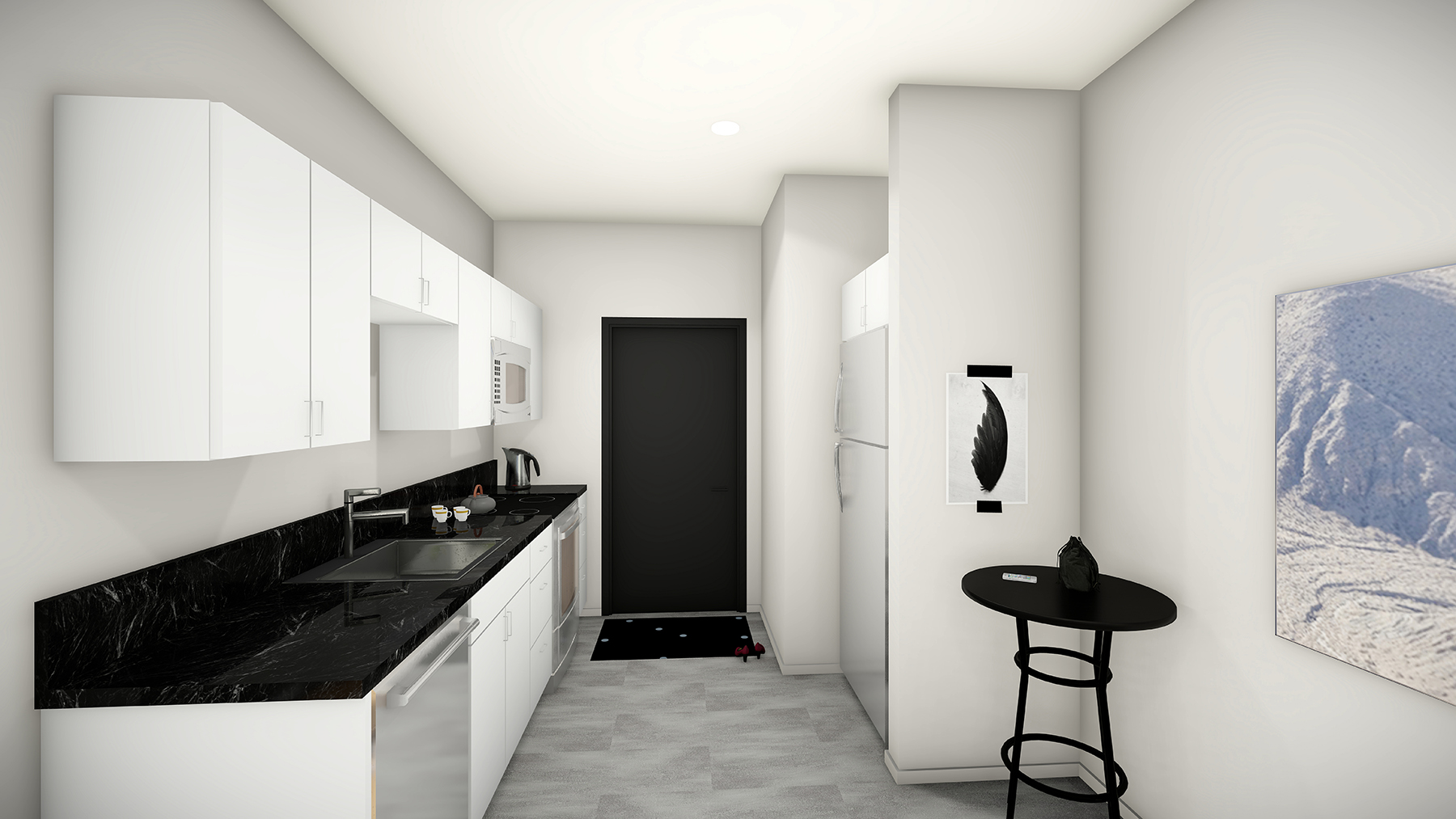 Style B3 & B4: The Nest Kitchen